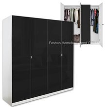 Wholesale Modern MDF Bedroom Wardrobe Closet Furniture (HF-WC031)