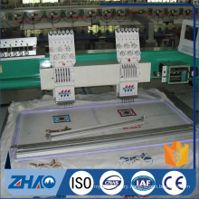 China hot selling 2 head 6 needle Flat Computerized Economical embroidery machine