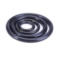 O-ring de borracha nitrílica do tamanho métrico preto para o encanamento