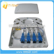 Caja terminal de fibra óptica de 4 puertos FTB-104B