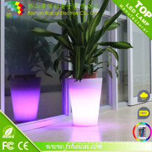 Color Changing LED Flower Pot/Garden Decoration LED Flower Vase/LED Flower Planter Pot