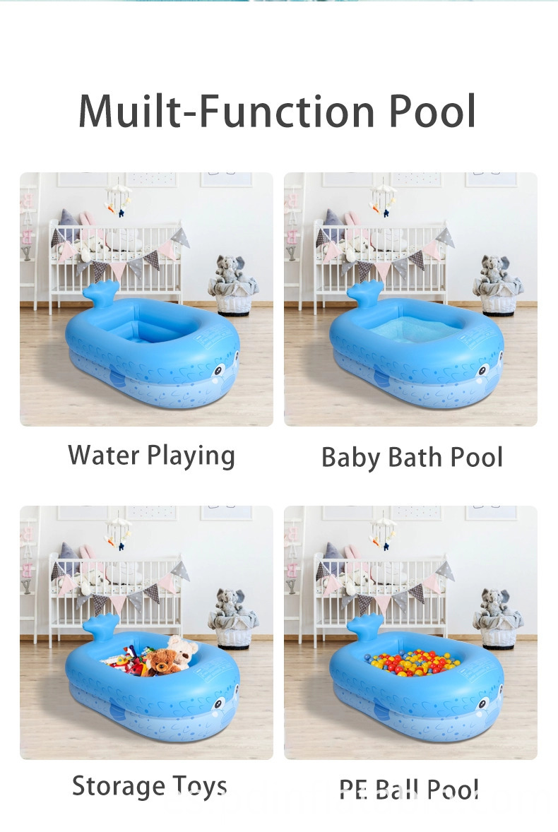 small inflatable baby pool
