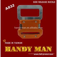 A832 Harness Aluminium / Stahl Seite Schnellverschluss Sicherheitsschnalle