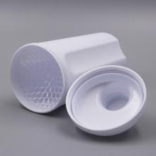 500ml novo design Plastic Protein Shaker Bottle with Lid (KL-7058)