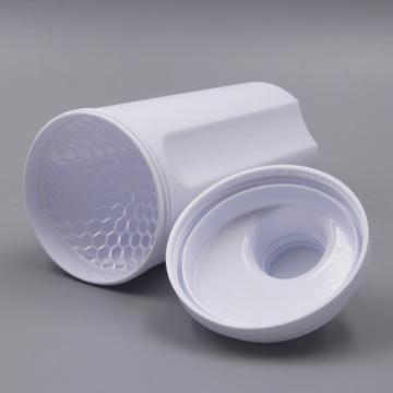 500 ml de nouvelle bouteille en plastique à protéines Shaker avec couvercle (KL-7058)