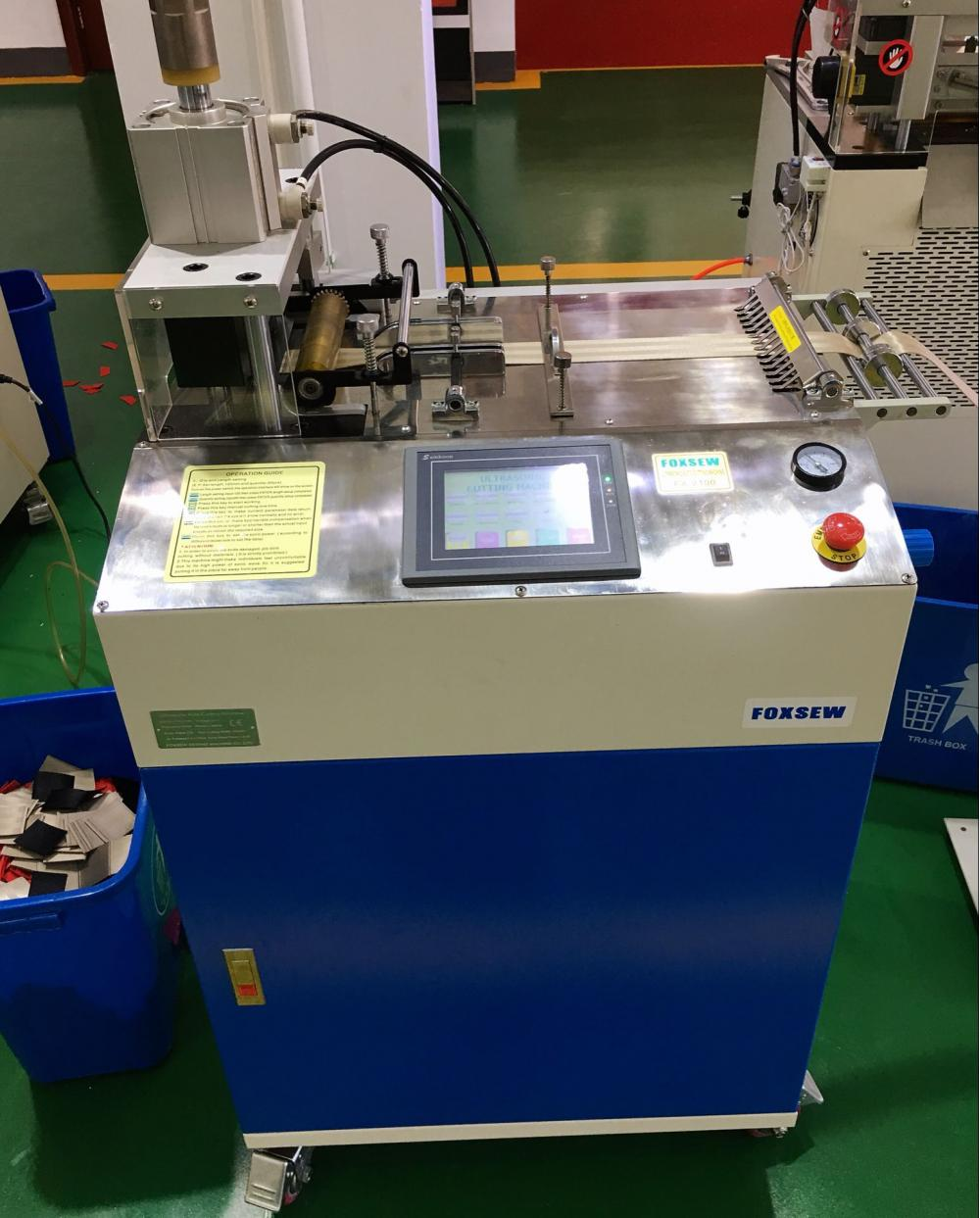 Ultrasonic Tape Cutting Machine 2