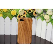 Caja de madera de la cubierta del proveedor de la fábrica de China para iPhone con tecnología del aceite de cera