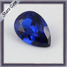 Синтетическая шпинель с круглым синим стержнем