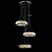 crystal indoor lamps home decorative pendant chandelier