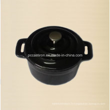 Émaillage en fonte Mini Pot Taille 10cm