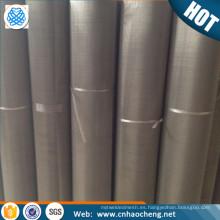 Resistencia térmica Malla de alambre de FeCrAl / Malla de alambre de aluminio de cromo de hierro Malla fina de FeCrAl