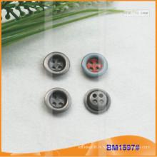 Bouton en alliage de zinc et boutons en métal et bouton de couture métallique BM1597