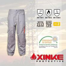 Pantalones de trabajo resistentes al fuego CVC para la industria