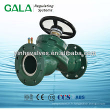Vanne de régulation du débit d'eau