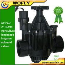 """12VDC 2 """"retentor de irrigação solenóide válvula de água"""