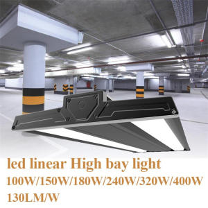 100W Rectangle Linear Led Low Bay Lighting
