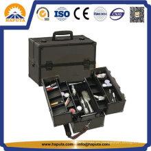 Cajas de almacenamiento de aluminio económicas para maquillaje y herramientas (HB-1201)