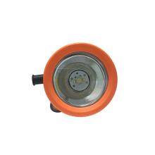 Capacete para mineiros recarregáveis - cor laranja claro