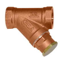 Bronze Y-filtro