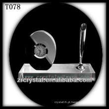 Maravilhoso K9 Crystal Clock T078