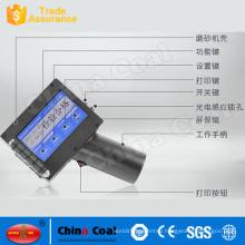 portable handheld date code bar code inkjet printer