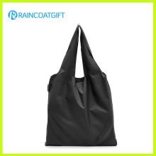Sac à main promotionnel d'emballage d'épicerie de polyester / nylon RGB-097