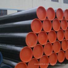 Tubulação de aço carbono sem costura certificada pela SGS para petróleo e gás