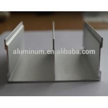 Perfis de extrusão de alumínio / 6063 mobiliário perfil de alumínio / anodização matting / anodização e explosão de areia