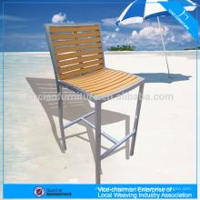 Chaise de salle à manger d'extérieur PS-bois chaise de plage