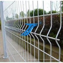 China geschweißter gebogener Zaun / dreieckiger biegender Zaun / Dirickk-Achse