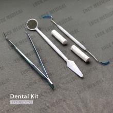Instruments de kit dentaire médical jetable