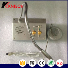 2017 Koontech Bank Fenster Intercom System Kndj-01 Dual Way Counter Gegensprechanlage
