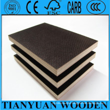 12mm 18mm Black Marine Film Faced Plywood
