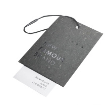 Rapid Production Custom Paper Childrens Clothing Hangtags