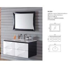 2016 nova moda pendurado banheiro vaidade gabinete