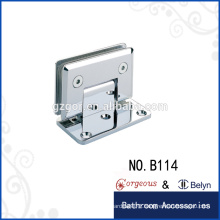 hinges pallet collars Bevel 90 degree single hinge for glass door