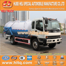JAPAN technology 6x4 16000L suction sewer truck with vacuum pump 280hp