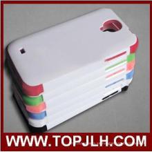 Alta calidad TPU Plus PC sublimación caso móvil para Samsung Galaxy S4