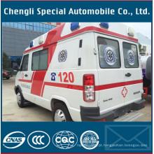 Primeiro tratamento de ambulância auxiliar de emergência de primeiros socorros
