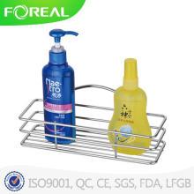 Металлические хромированные стойки шампунь угловой ванной