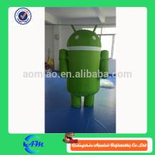 Traje inflable de la mascota del traje androide inflable modificado para requisitos particulares de la mascota para la venta