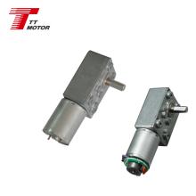 TT Motor or 12 volt dc worm gear motor TWG3246-370