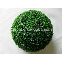 декоративные пластиковые зеленая трава мяч искусственный самшит трава шар висит на потолке