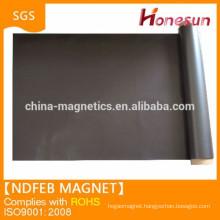 High elasticity natural rubber magnet sheet