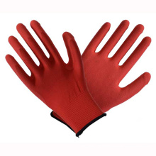 Red 13t Latex Coated Labour Safety Safety Work Gloves