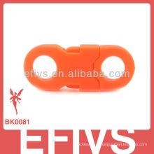 2013 clipes de plástico da pulseira de sobrevivência da China