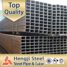 Black steel tube Hollow section Square / Rectangular