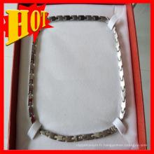 2015 Hot Sale Titanium Collier pour les hommes