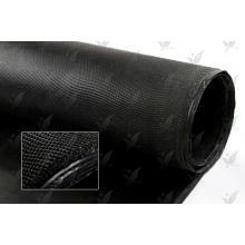 Tissu en fibre de verre revêtu de Demandeé Couleur noire