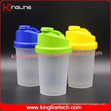 500ml BPA Free Plastic Protein Shaker Bottle with Filter (KL-7012B)
